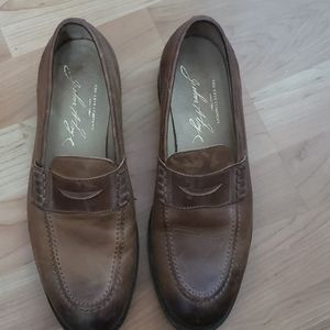 Mens Frye Leather loafers size 8